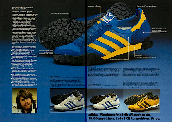 1979, adidas catalogue in German