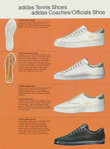 new arrival f480c 4cf7b 1970-1971, adidas catalogue in English