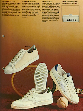 1971, adidas catalogue in English